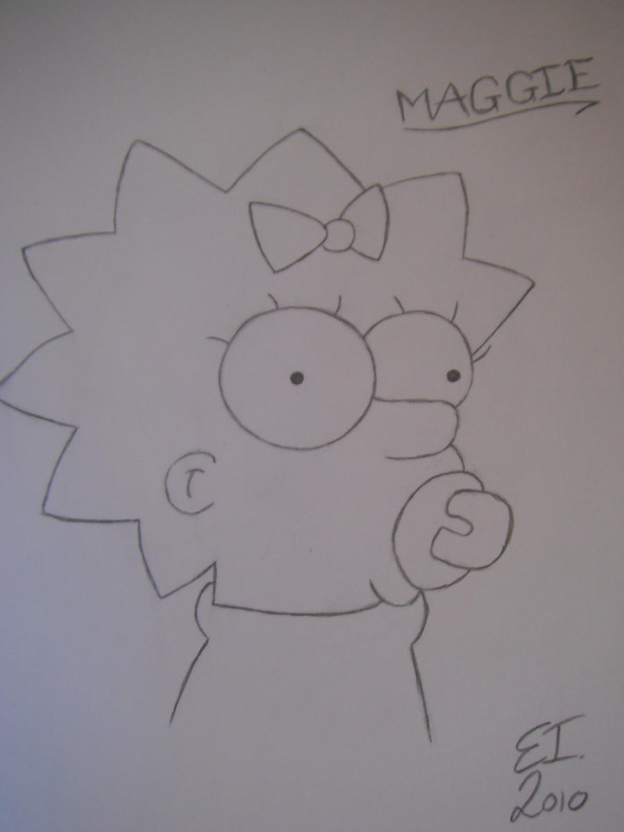 maggie simpson signature by - photo #47