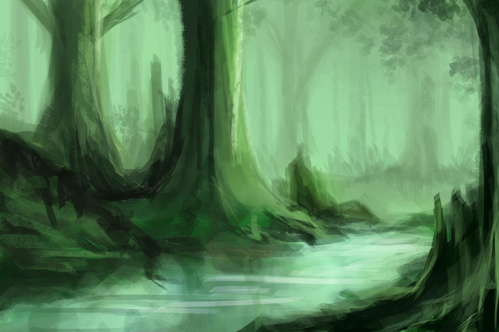 forest by Jaeger-bomb