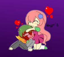 huggu::for:mai::hubando by Rayne-Is-Butts