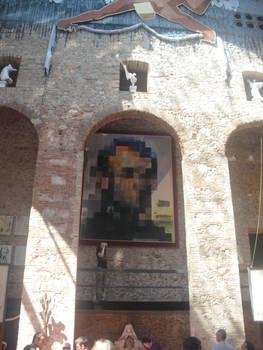 Dali did pixel art