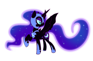 Pony:NightmareMoon: by Rayne-Is-Butts