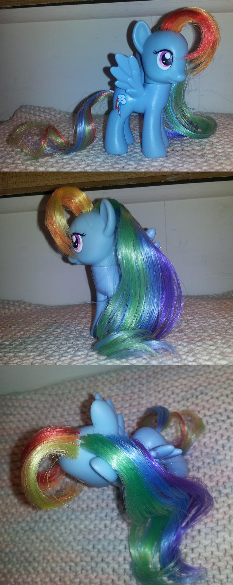 MLP:Rainbow.Dash Rehair: by Rayne-Is-Butts