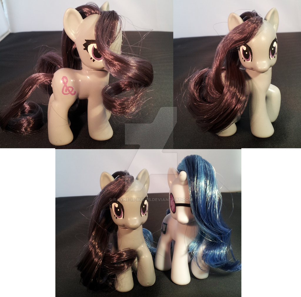 My Little Pony Custom FOR SALE: Octavia by Rayne-Is-Butts