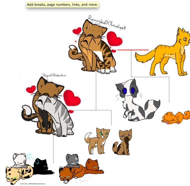 Warrior Cats Fireheart Family Tree