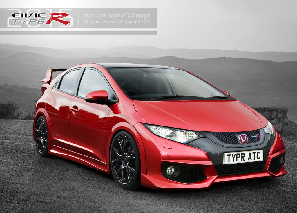 2015 Honda Civic Type R (Red) By ATC Design ...
