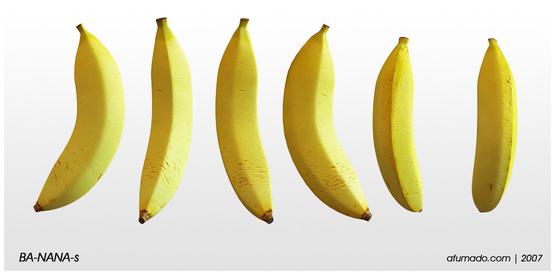 banana by afumado