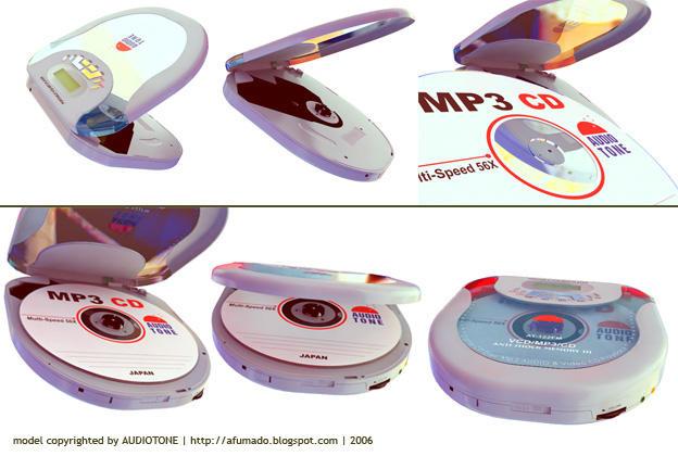 audiotone discman by afumado