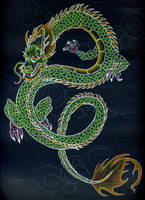 Green Dragon by wilithien