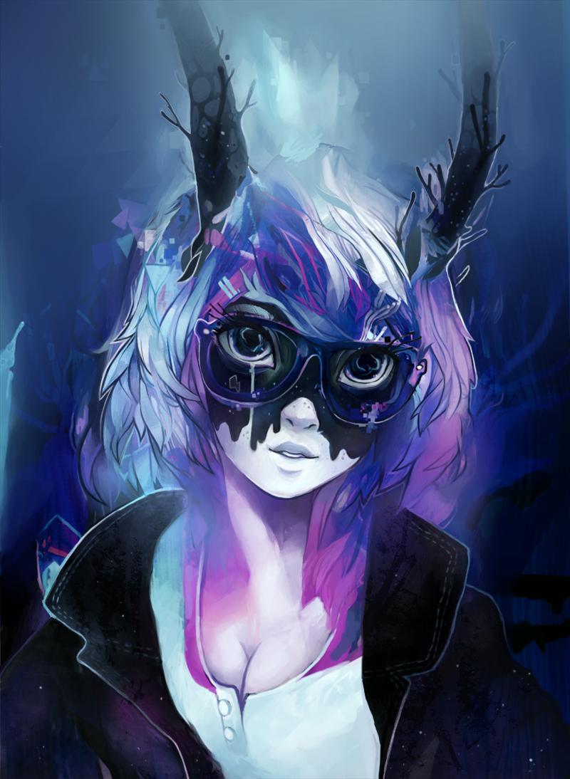 Galaxy girl by Uberkut dans Fantastique galaxy_girl_by_uberkut