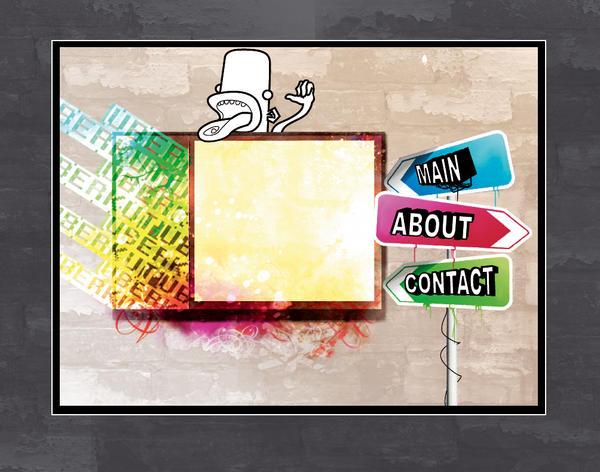 uberkut site layout by steinlo