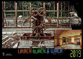 URBEX RUREX and WREX Calendar 2019 cover