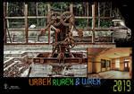 URBEX RUREX and WREX Calendar 2019 cover by Abrimaal