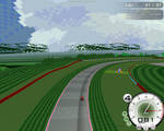 Retro track modern game by Abrimaal