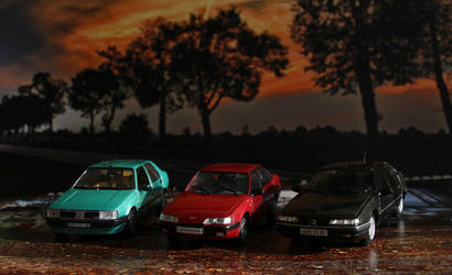 1/43 Cars after Sunset by Abrimaal