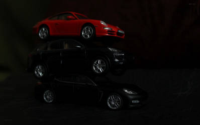Porsche Family by Abrimaal