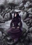 Meditating by Aventisz