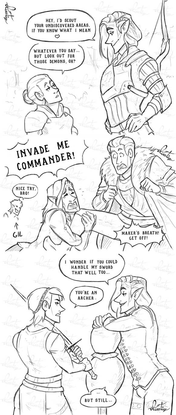 The Inquisitor's worst pickup lines by Aventisz on DeviantArt