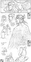 Manwe sketches