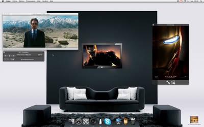 Ironman on my Desktop