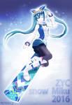 ZYC style Snow Miku 2016 DL