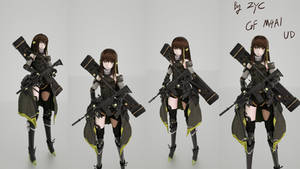 Girls' Frontline M4A1 Up
