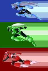 RGB Racers by Dasutobani