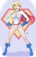 30 Girls 8 - Power Girl by Dasutobani