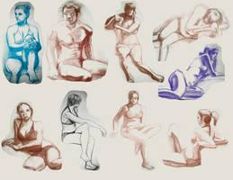 Life Drawing sampler by Dasutobani