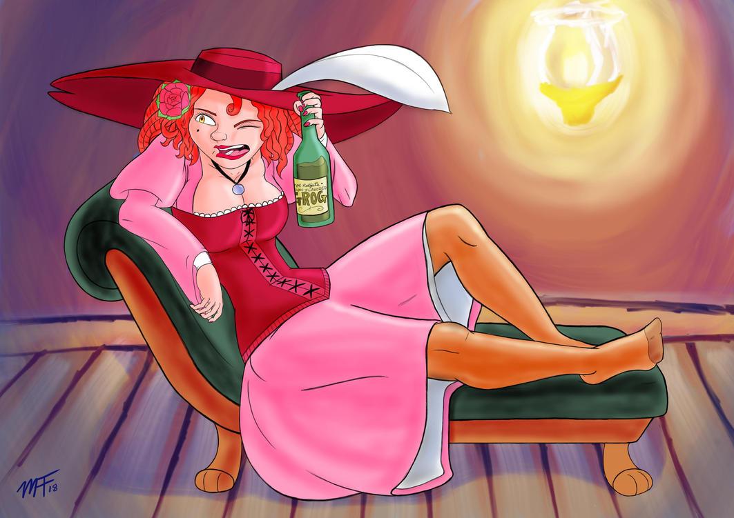 Scarlet The Redheaded by Dasutobani