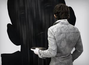 Dragos Sulgheru - charcoal drawing