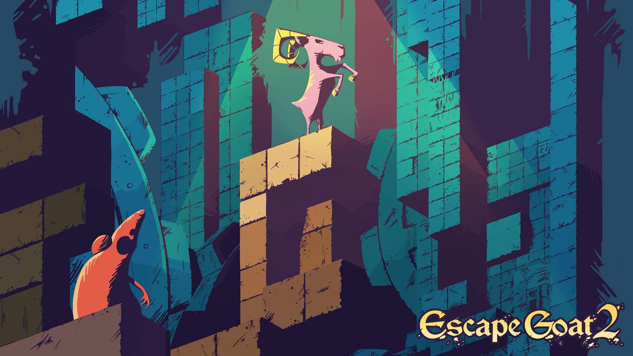 Escape Goat 2 Box Art by theonlyupriser