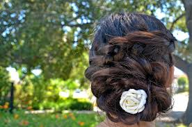 sister's hair at aunty's wedding by sexypaige100