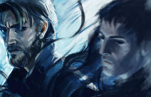 Dishonored Fast Sketch by KatrinaG46