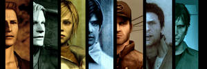 -THE SILENT HILL PROTAGONISTS-