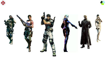 Resident Evil 5 Wallpaper by rollerfan222