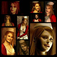 Silent Hill Faces: Lisa Garland by rollerfan222