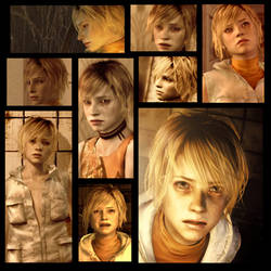 Silent Hill Faces: Heather Mason by rollerfan222