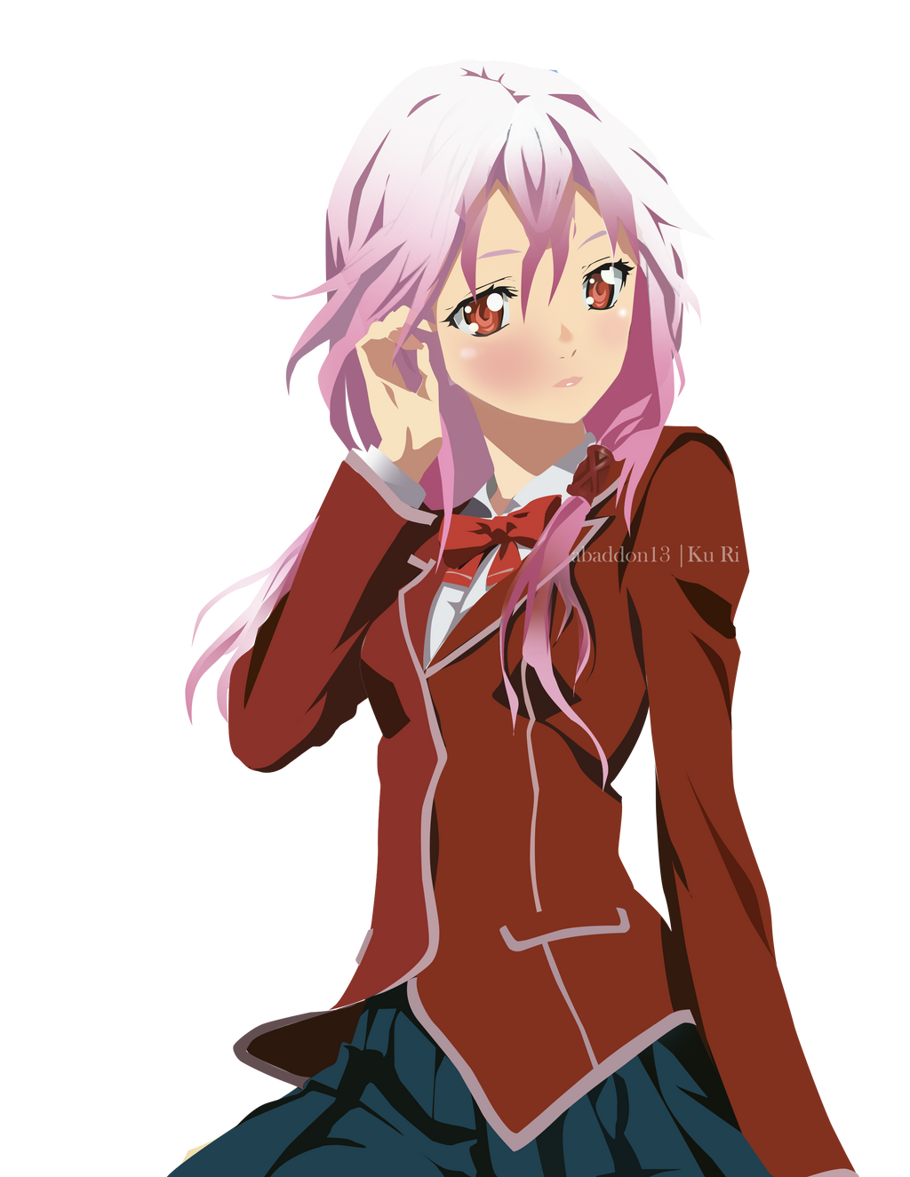 Inori of Guilty Crown by kuricurry