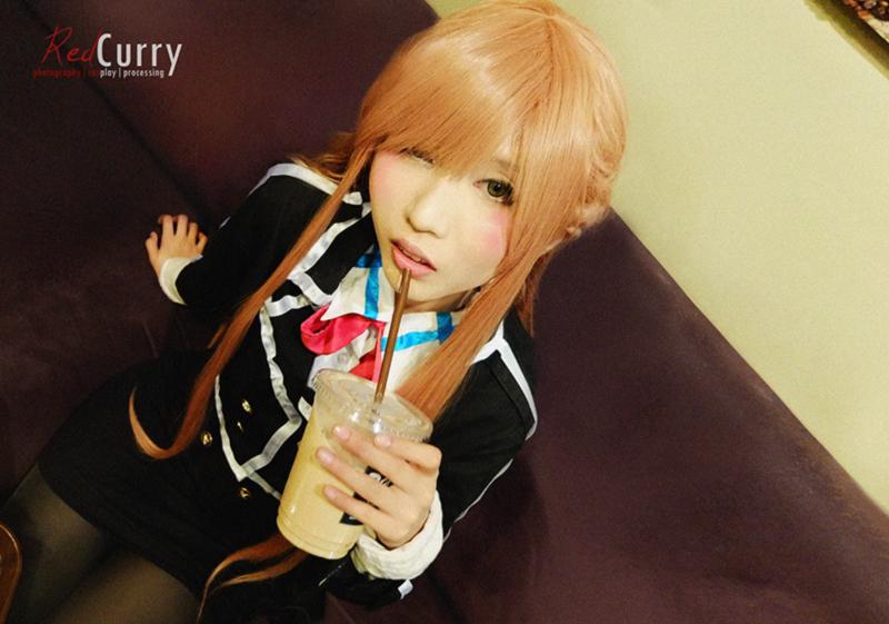 Asuna yuuki black uniform by kuricurry