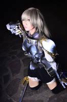 Emi Yusa: The Hero by kuricurry