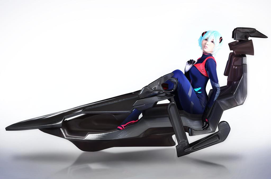 Rei Ayanami: The Pilot Awaits by kuricurry