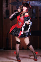 Eliza Tekken Revolution by kuricurry