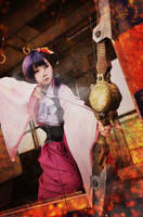 Ayame-kabaneri-cosplay by kuricurry