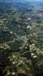 Aerial city by Blinxis