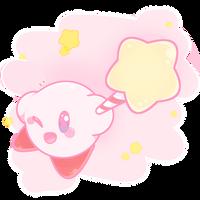 ~Kirby's shining~ by Yuupinou