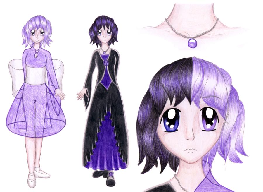 Mahou Violet - Violaine by Chibi-Sugar