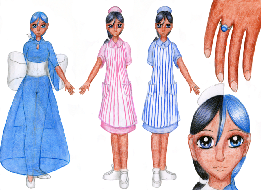 Mahou Blue - Sapphire by Chibi-Sugar