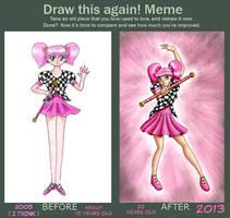 Suga Senshi Draw this again meme by Chibi-Sugar