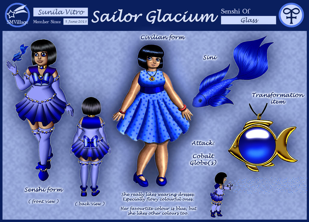SMV - Sailor Glacium - Sunila by Chibi-Sugar