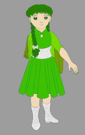mahou Green by Chibi-Sugar